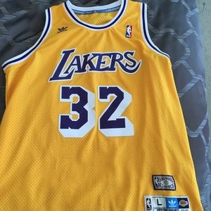 Magic Johnson, lakers replica jersey